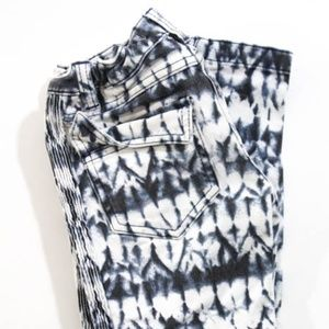 Isabel Marant for H&M Blue White Tie Dye Jeans 8 9